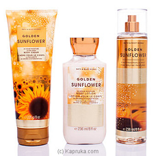 Bath And Body Works Golden Sunflower Body Care Set By BBW at Kapruka Online for specialGifts