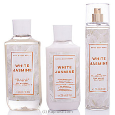 Bath And Body Works WHITE JASMINE Gift Set  By BBW at Kapruka Online for specialGifts