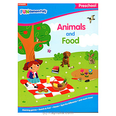 Fundamentals Preschool Animals And Food By Big Bad Wolf at Kapruka Online for specialGifts
