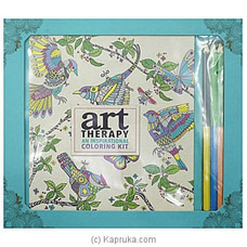 Art Therapy: An Inspiration Notebook By Big Bad Wolf at Kapruka Online for specialGifts