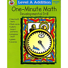One-Minute Math Developmental By Big Bad Wolf at Kapruka Online for specialGifts