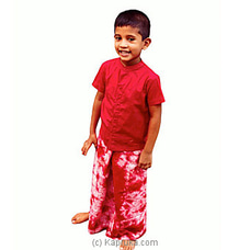 Cherry tie dye sarong and shirt By Wink Kids at Kapruka Online for specialGifts