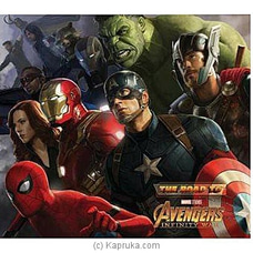 Marvel The Road To Avengers Infinity War By Big Bad Wolf at Kapruka Online for specialGifts
