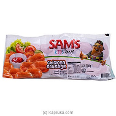 Sam`s Kids Chicken Sausage 500 G By NA at Kapruka Online for specialGifts
