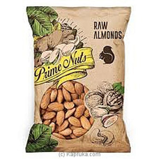 Prime Nuts Raw Almonds100g Packet By NA at Kapruka Online for specialGifts