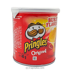 Small Tin Of Pringles Original  -40g By NA at Kapruka Online for specialGifts