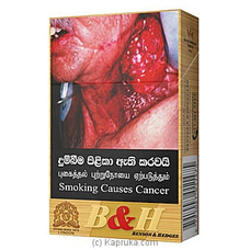 Benson And Hedges- 20 Cigarettes Per Pack By NA at Kapruka Online for specialGifts