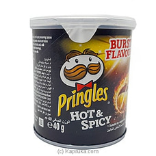 Small Tin Of Pringles Hot & Spicy -40g at Kapruka Online