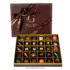 `BEST MUM` 30 Piece Chocolate Box (GMC) By GMC at Kapruka Online for specialGifts