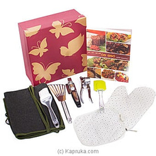 Mom`s Kitchen Utensils with Recipe Book By NA at Kapruka Online for specialGifts