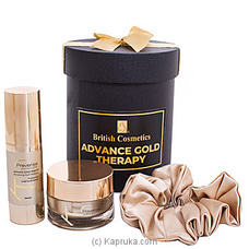 British Cosmetics Gold Duo Box By British Cosmetics at Kapruka Online for specialGifts