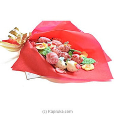 Shangri-La Chocolate Dipped Strawberry Bouquet By NA at Kapruka Online for specialGifts