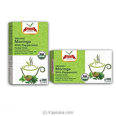 Rolanta Organic Moringa With Peppermint Herbal Drink -40g By NA at Kapruka Online for specialGifts