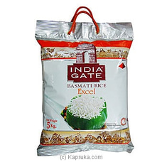 India Gate Exotic Basmati 5kg By NA at Kapruka Online for specialGifts