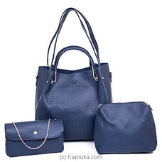 Women`s 3 Piece Handbag Set at Kapruka Online