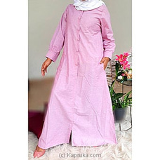 pink oxford ling maxi -ZM17508 By zamorah at Kapruka Online for specialGifts