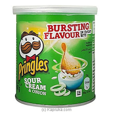 Small Tin Of Pringles Sour Cream & Onion -40g By Pringles at Kapruka Online for specialGifts
