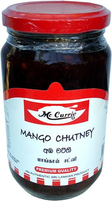 Mc Currie Mango Chutney Bottle - 450g By Mc Currie at Kapruka Online for specialGifts