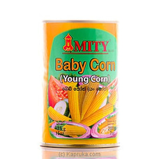 Imported Tin of Whole Young Corn - 425g By Mity at Kapruka Online for specialGifts