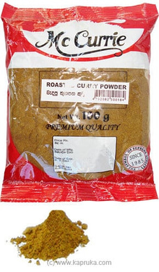 Mc Currie Roasted Curry Powder pkt  - 100g By Mc Currie at Kapruka Online for specialGifts