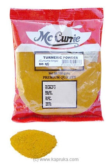 Mc Currie Turmeric Powder pkt - 100g By Mc Currie at Kapruka Online for specialGifts