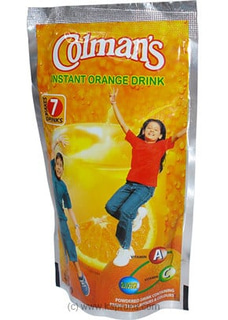 Colman`s Instant Orange Drink Pkt - 140g at Kapruka Online