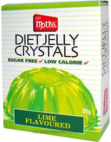 Motha Lime Diet Jelly Crystal  pkt - 30g By Motha at Kapruka Online for specialGifts