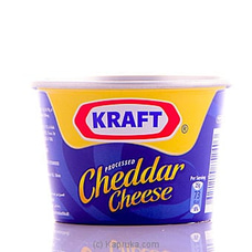 Kraft Cheddar Cheese Tin - 190g at Kapruka Online