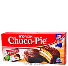 Orion Choco Pie pack - 168g By Orion at Kapruka Online for specialGifts