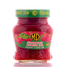 MD Diabetic Strawberry Jam Bottle - 330g By MD at Kapruka Online for specialGifts