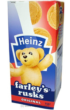 Heinz Farleys Rusks - Original 150g By HENIZ at Kapruka Online for specialGifts