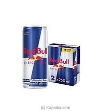 2 Pack of Red Bull Energy Drink Can - 500ml By Red Bull at Kapruka Online for specialGifts