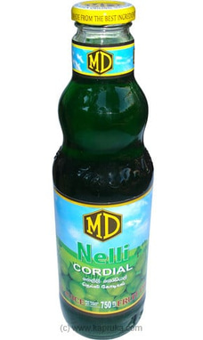 MD Nelli Cordial Bottle - 750ml By MD at Kapruka Online for specialGifts