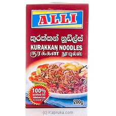 Alli Kurakkan Mixed Noodles Pkt- 200g By Alli at Kapruka Online for specialGifts