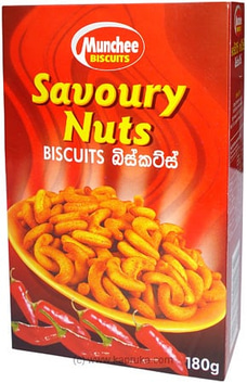 Munchee Savoury Nuts Biscuits pkt - 170g By Munchee at Kapruka Online for specialGifts