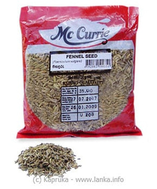MCCURRIE Fennel Seed Pkt - 100g at Kapruka Online
