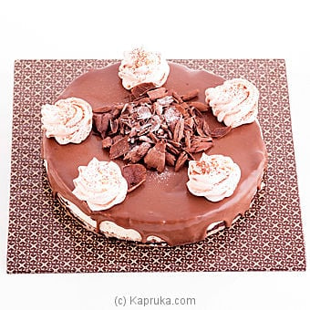 Premium Belgium Chocolate Cheese Cake(gmc) Online at Kapruka | Product# cakeGMC00113
