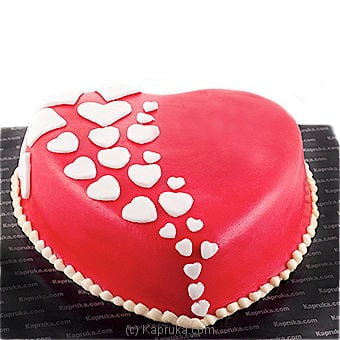 With All My Heart Online at Kapruka | Product# cake00KA00422
