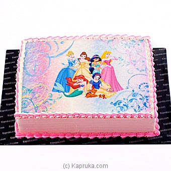 Princess Online at Kapruka | Product# cake00KA00459