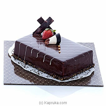 Rich Dark Chocolate Cake(gmc) Online at Kapruka | Product# cakeGMC00165