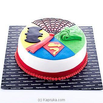 Super Hero Cake Online at Kapruka | Product# cake00KA00617