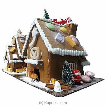 Gingerbread Cookie House(gmc) Online at Kapruka | Product# cakeGMC00241