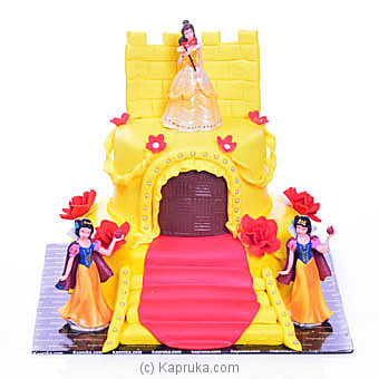 Disney Princesses Castle Cake Online at Kapruka | Product# cake00KA00931