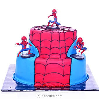 Spider Man In Action Online at Kapruka | Product# cake00KA00937