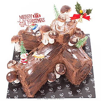 Christmassy Yule Log Online at Kapruka | Product# cakeWE00119