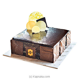 Shangri- La - Chocolate Napa Brownie Online at Kapruka | Product# cakeSHG00135