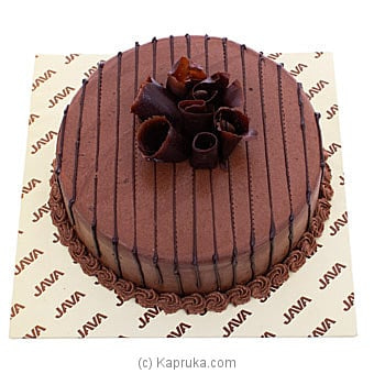 Java Wicked Chocolate Cremoux Ganache Cake Online at Kapruka | Product# cakeJAVA00157