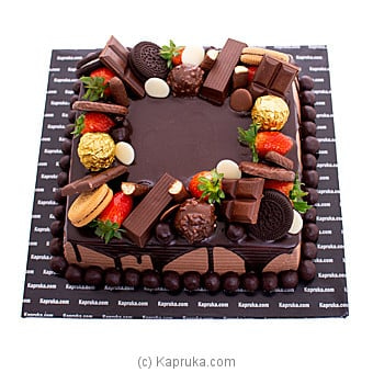 Rhythm Of Romance Chocolate Cake Online at Kapruka | Product# cake00KA001145