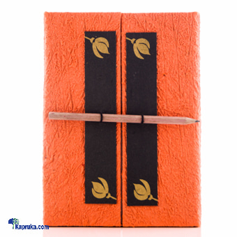 Large Wardrobe Book With Pencil Online at Kapruka | Product# CBstatio00024