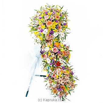 Tribute Spray Wreath Online at Kapruka | Product# flowers00T862